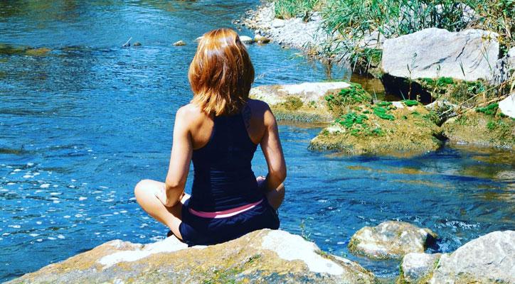 Entspannen und Erholung am Wasser